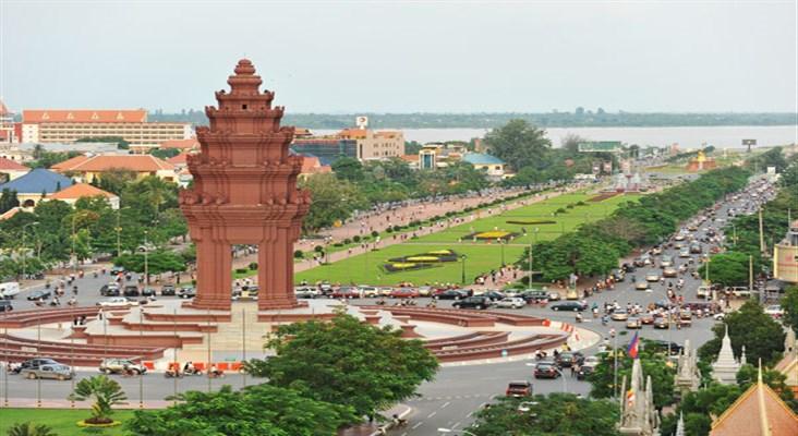 Thu Đô Phnom Penh lễ 30/4