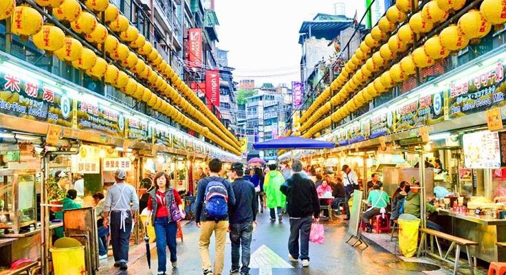 Du Lịch Đài Loan lễ 30/4 chợ đêm