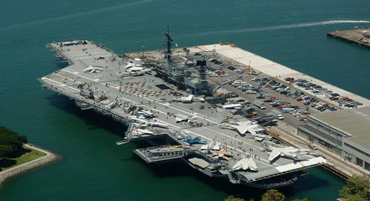 Chiến Hạm Midway Du Lịch Mỹ Bờ Tây Hoa Kỳ Lễ 30/04