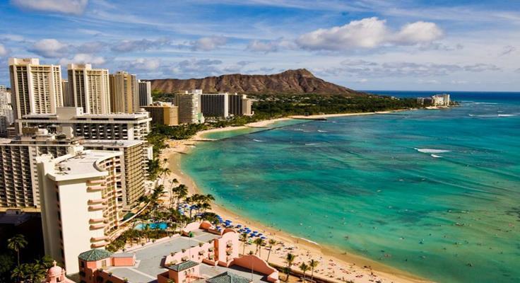 Bãi Biển Đẹp Hawaii