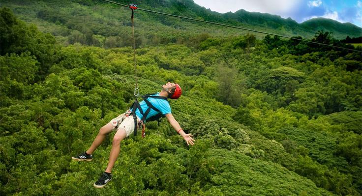 Zipline Lửng Lơ Giữ Núi Rừng