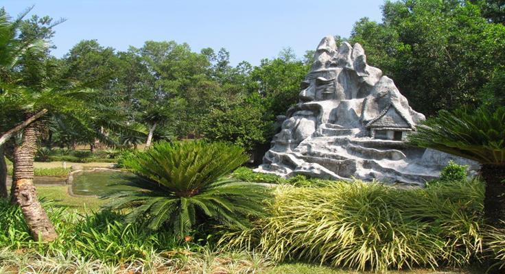 Madagui Công Viên Thần Núi
