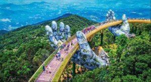 Cây Cầu Vàng Bana Hills DU LỊCH ĐÀ NẴNG HỘI AN LỄ 2 THÁNG 9