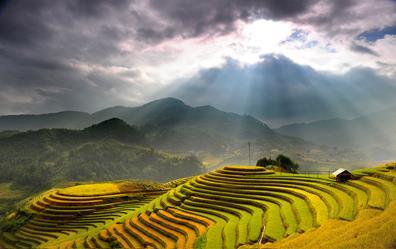 Ruộng Bật Thang Đồng Văn