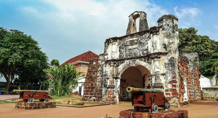 Pháo đài cổ malacca