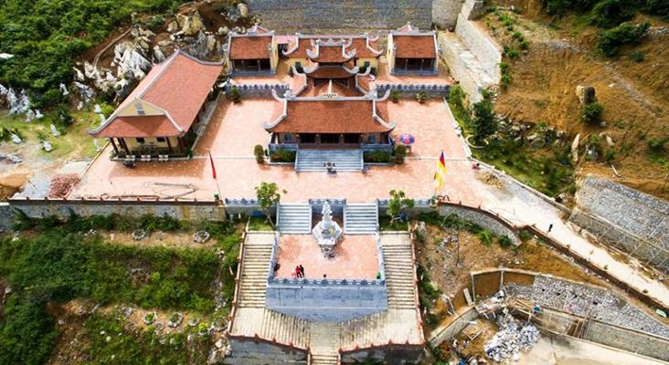 Chùa Phật Tích Trúc Lâm Thiền Viện DU LỊCH THÁC BẢN GIỐC HỒ BA BỂ HANG PÁC BÓ ĐÃ 2 THÁNG 9
